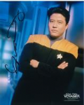 Garrett Wang Star Trek: Voyager as Ensign Harry Kim, Star Trek, Genuine Signed Autograph 10x8, 3622